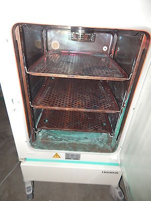 Heraeus HERAcell Incubator on Casters,Kendro Laboratory Products,Copper Interior