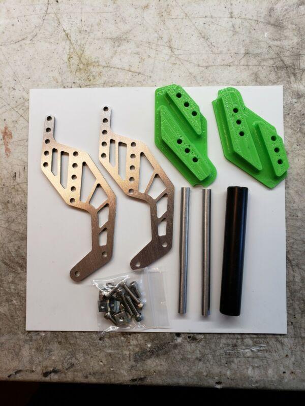 RH Designs Axial Grave Digger SMT-10 green Adjustable Wheelie Bar