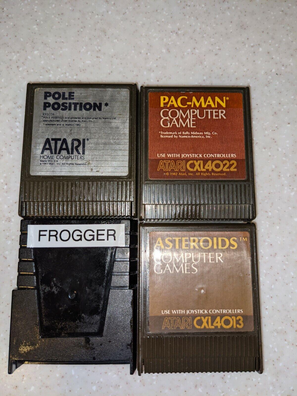 Computer Games - LOT 4 Atari Computer Game Cartridges 400 800 XL XE
