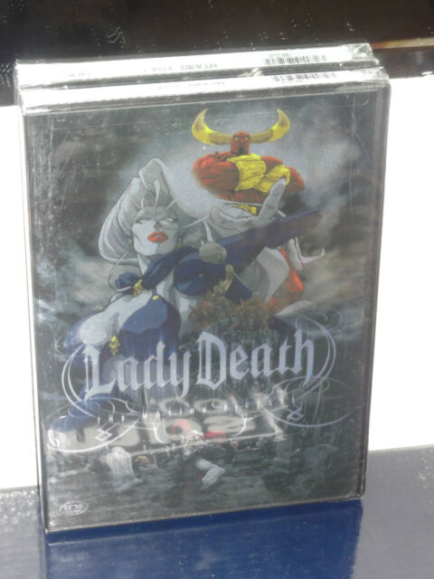 Lady Death (DVD) Motion Picture, Andrew Orjuela, English Dubbed! ADV FILMS DVD!