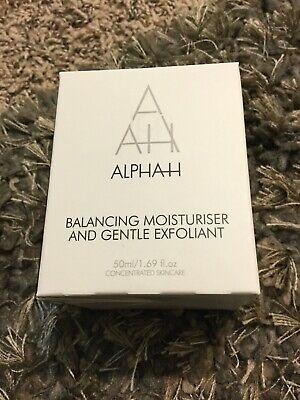 NEW Alpha H Moisturiser Balancing & Gentle Exfoliant 1.7oz