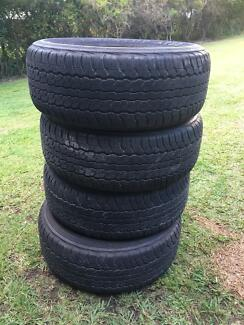 Toyota 200 series tyres