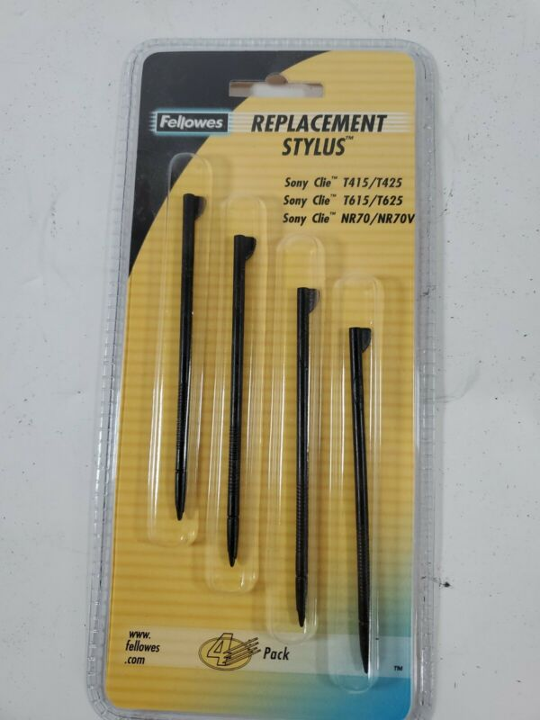 Fellowes Replacement Stylus For SONY Clie 4pk
