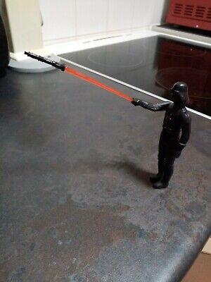 Star wars figures light saber red and blue