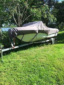 16 Foot Boat with 75 HP Motor