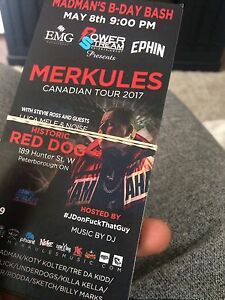 Merkules tickets for sale