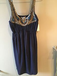 NWT pretty blue summer dress