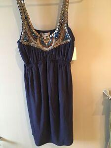 NWT pretty blue summer dress