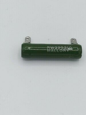 Mallory Resistor Rw32g310. New-open Box.