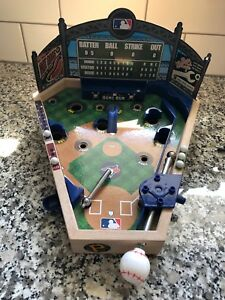 MLB  Tabletop Wood Pinball Game