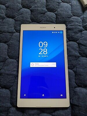 Sony Xperia Z3 Tablet Compact Wi-Fi model [Android tablet] SGP612 White