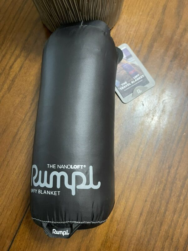 Rumpl Black NanoLoft Travel Blanket 52x38  $99