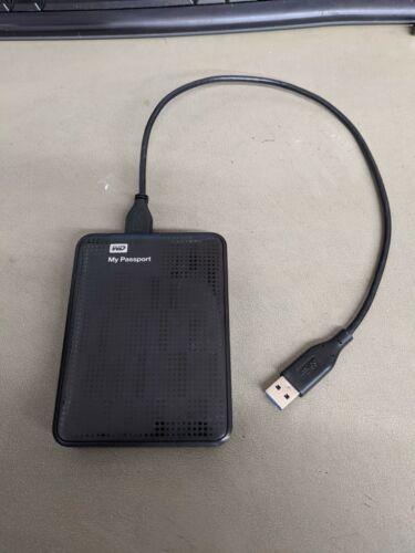 WD My Passport hard drive 2tb USB 3.0 (WDBY8L0020BBK-NESN)
