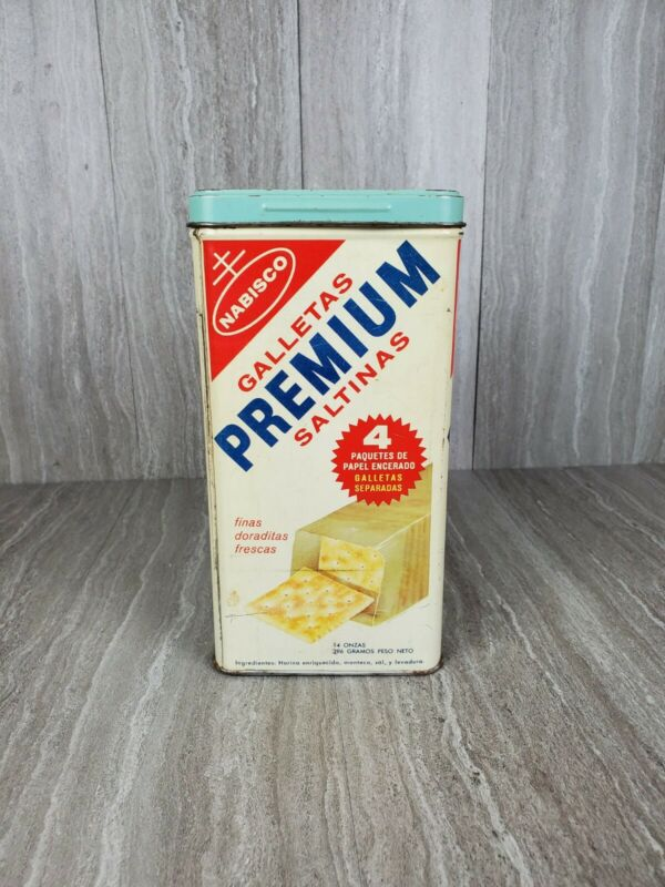 Nabisco Premium Saltine Cracker Tin
