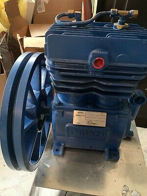 Quincy Qts 3 Air Compressor Pump With Flywheel Nib Nos Open Box