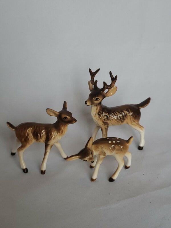 Hagen Renaker Retired Deer Family Rare