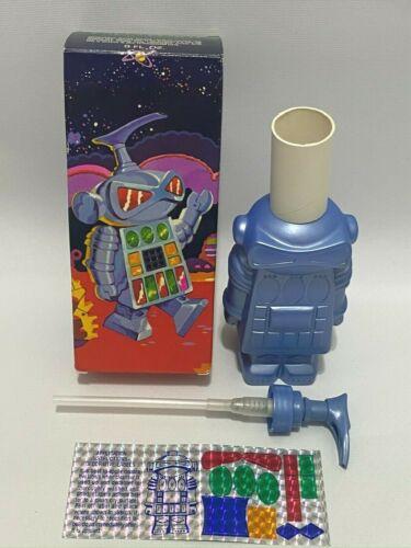 Vintage 1980 Avon I.M.CLEAN II Liquid Cleanser & Pump Robot Alien New 8 fl. oz