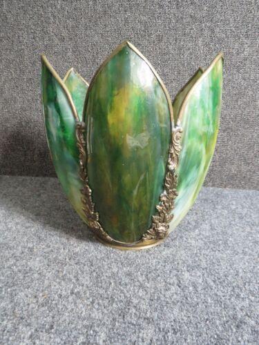 Antique Panel  Lamp shade Tulip Style 6 panels