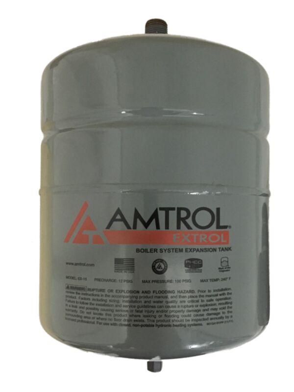 Amtrol Extrol EX-15, EX15 Boiler Expansion Tank, 2.0 Gallon Volume, #101-1
