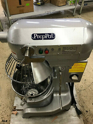 Prep Pal Ppm-10 Planetary Heavy Duty Bakery Dough Mixer Floor Model