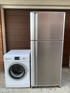 Bundle stainless steel fridge and washing machine free delivery