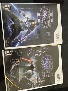 Two Star Wars wii games; brand new