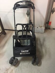 Snap and go stroller