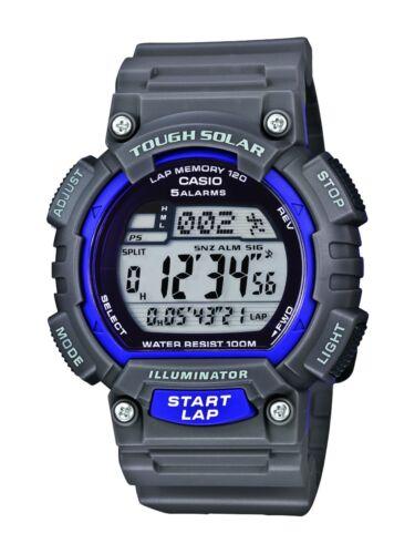 Casio Core Men's STL-S100H-8AVCF Digital Solar-Powered Gray/Purple Resin