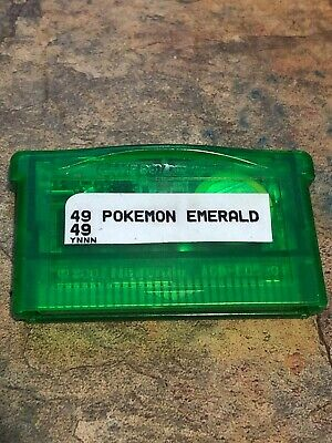 Pokemon Emerald Nintendo Game Boy Advance GBA ORIGINAL AUTHENTIC Dry Battery