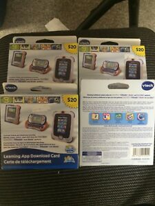 Vtech download cards new not open 80.00 worth NEW