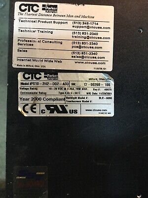 Ctc Parker Automation Model Ps 10-2h2-dd2-ad3
