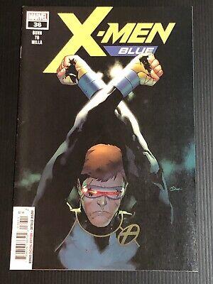 X-Men: Blue #36 NM- 9.2 Marvel Comics Angel,Cyclops,Beast,Iceman (Xmen Blue Beast)