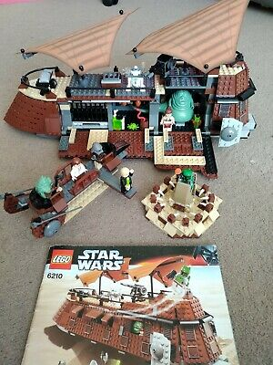Lego Star Wars 6210 Jabba's Sail Barge including Instructions and Minifigures