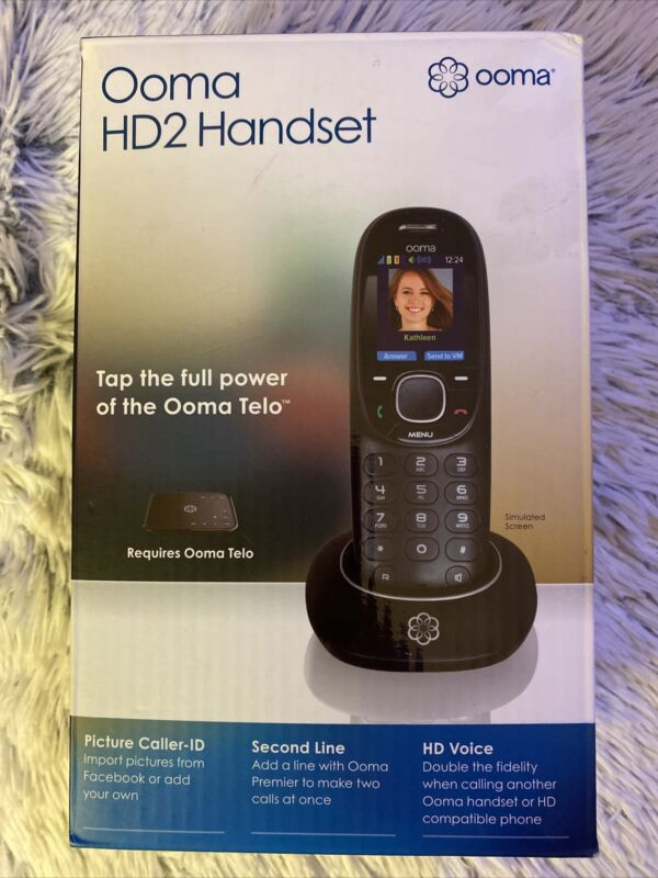 Ooma HD2 Phone Handset - NEW