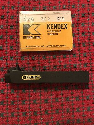 58 Indexable Tool Holder Lathe Kennametal Ksbr-103c Ins Sp-32 W 20 Inserts