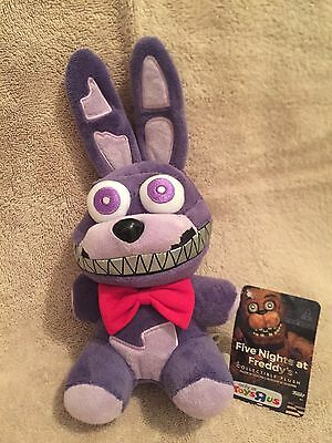 Funko Fnaf Five Nights At Freddys Exclusive 8  Nightmare Bonnie Plush Doll Nwt