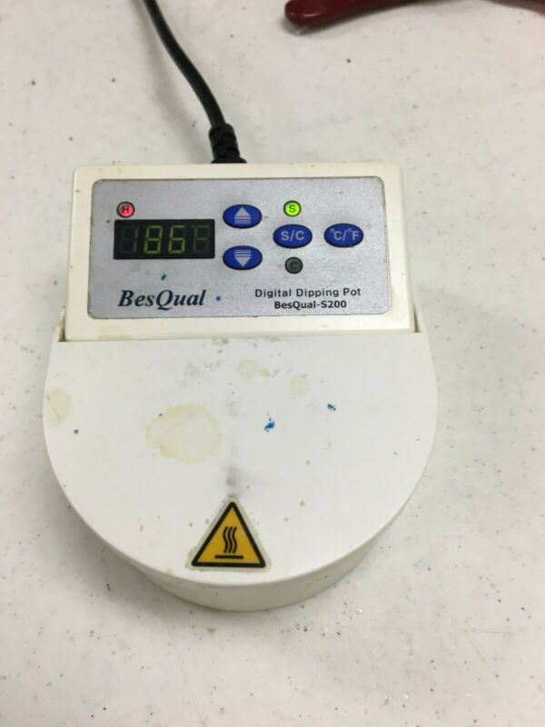Dental Lab BesQual S200 Digital Dipping Pot Wax Heater Single Compartment