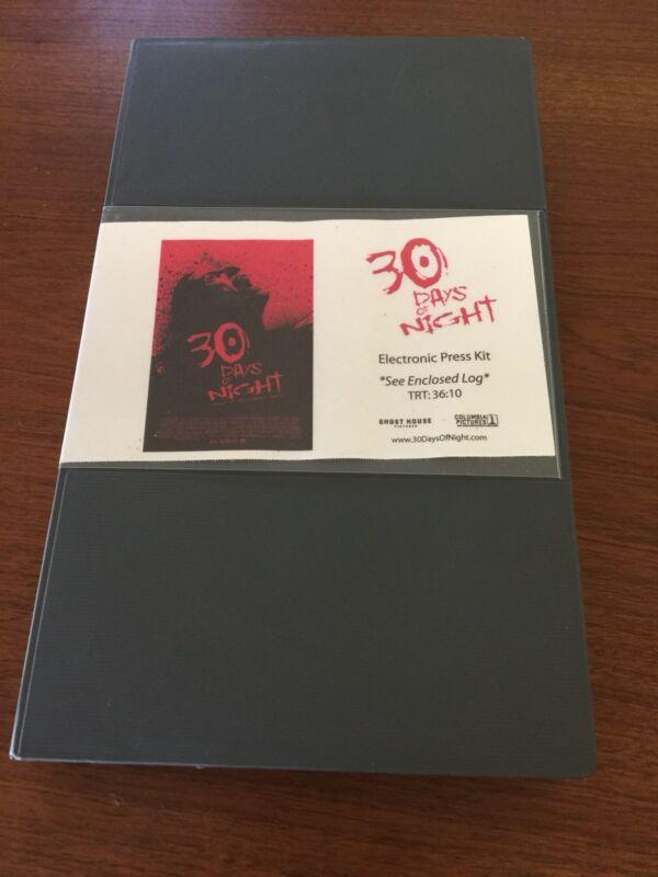 30 Days of Night Movie Electronic Press Kit - RARE BETACAM