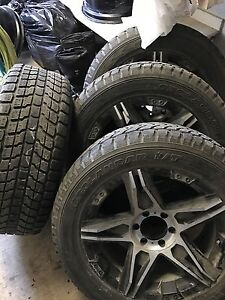 Rims and tires for sale Prince George British Columbia image 1