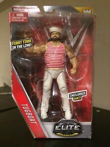 WWE Mattel Elite Tugboat Action Figure MOC