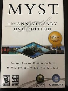 MYST 10th anniversary edition PC game