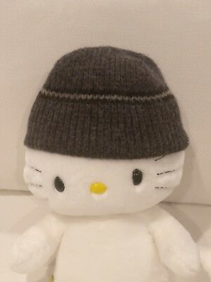 ABERCROMBIE FITCH Mens Beanie Wool Hat Stripe S/M
