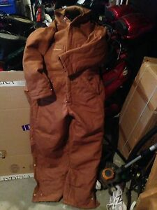 Coveralls insulated