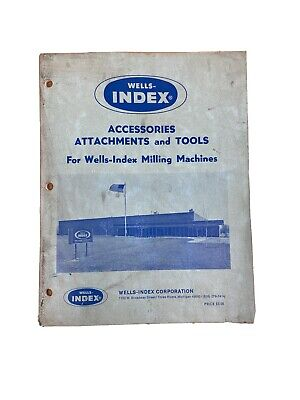Wells Index 810 Cnc System Manuals And Information Books
