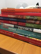 Physics, Geography and Maths textbooks (+ Creelman) Millbridge Dardanup Area Preview