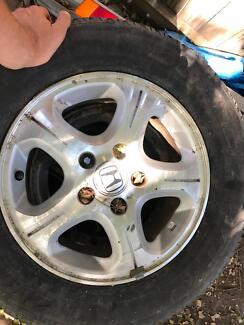Honda CRV allow wheels (original)