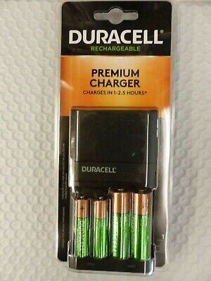 2aa Rechargeable Batteries - Duracell Premium Charger w/ 2AA 2AAA Rechargeable Batteries