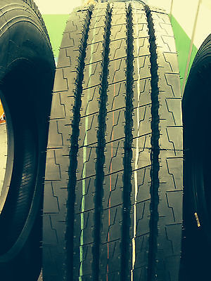 8 New 265/70R19.5 J/18PR - Steer All Position Car Carrier Tires 26570195 (#366)