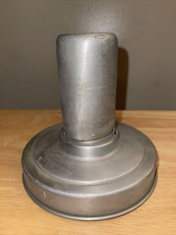 """6"""" Steel Nickle Plated Two Piece Glass Shade Holders"""