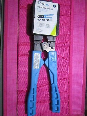 Sharkbite Pex Crimp Tool Kit 865896 For 38 12 34 1 - New